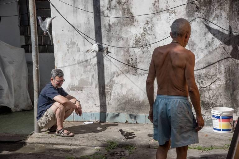 O antropólogo brasilianista John Burdick no Rio de Janeiro, onde realizou a maior parte do seu trabalho de campo