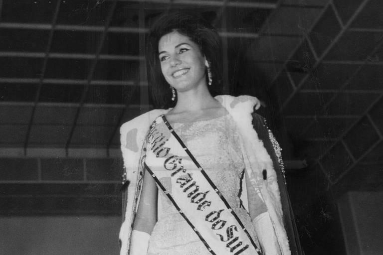 Ieda Maria Vargas em foto de 1964