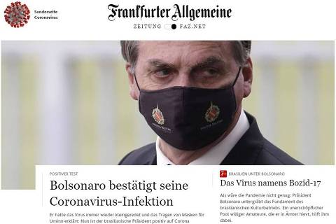 Bolsonaro pegou coronavírus 'após meses negando gravidade', destaca NYT