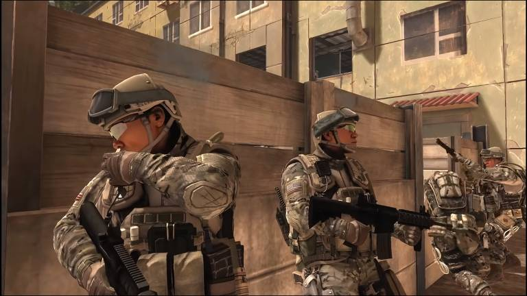 'America's Army', game feito pelo exército americano