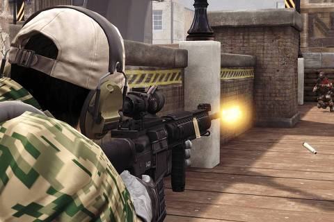 'America's Army', game feito pelo exército americano ORG XMIT: XTbOzf1mlYz86fmEqS5k