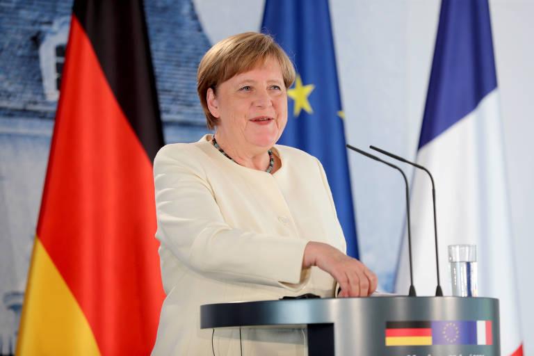 Tempo de tensões se traduziu no ressurgimento político de Angela Merkel