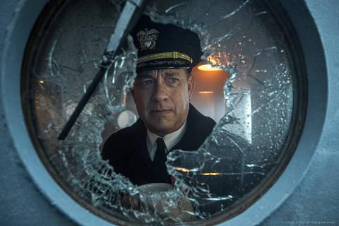 Tom Hanks em cena de