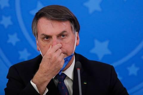 'No que depender de mim nunca teremos lockdown', diz Bolsonaro