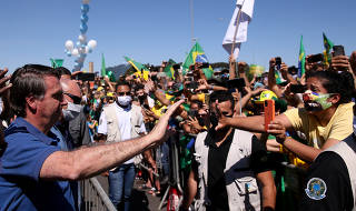 BOLSONARO / PROTESTO / CRISE POLITICA / CORONAVIRUS / COVID-19