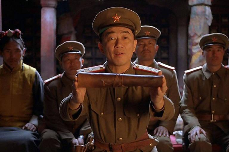 """Cena de """"Kundun"""" (1997), de Martin Scorsese"""