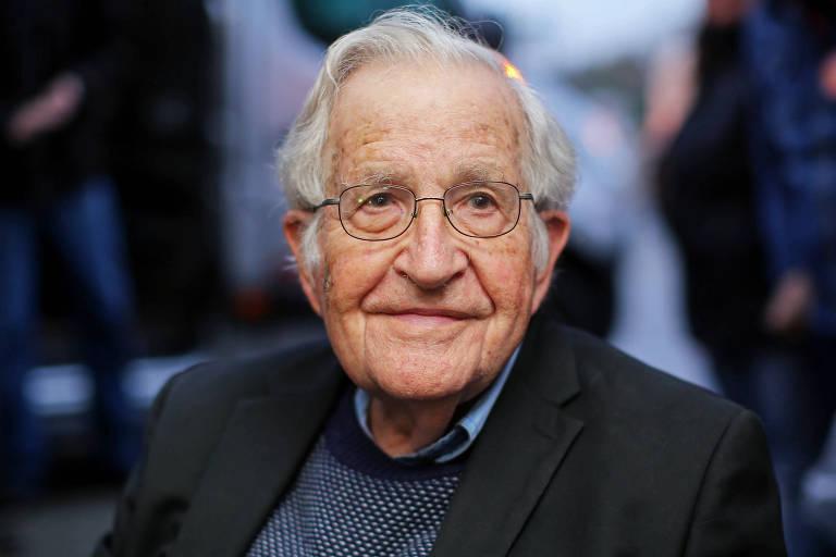 O linguista e ativista político Noam Chomsky