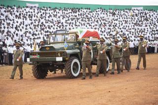 BURUNDI-GITEGA-LATE PRESIDENT-FUNERAL