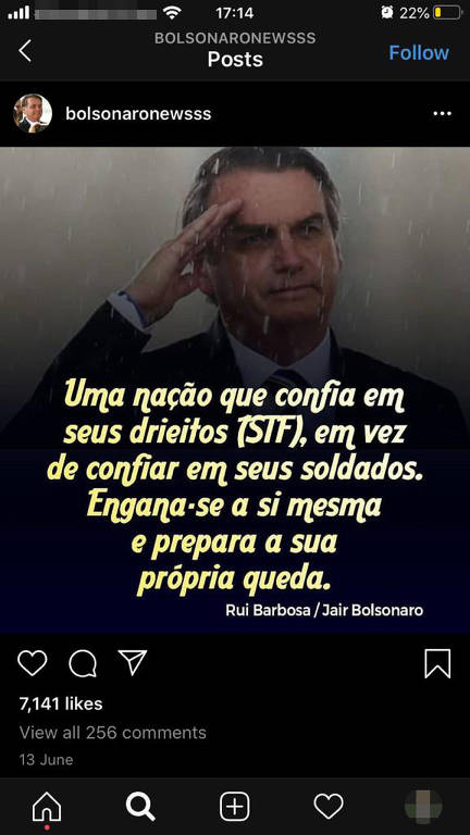Facebook liga assessor do Planalto a ataques contra opositores de Bolsonaro