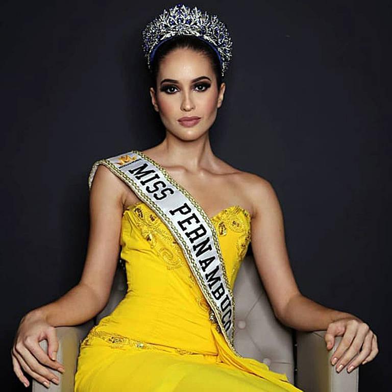 Imagens das candidata Miss Mundo Brasil 2020