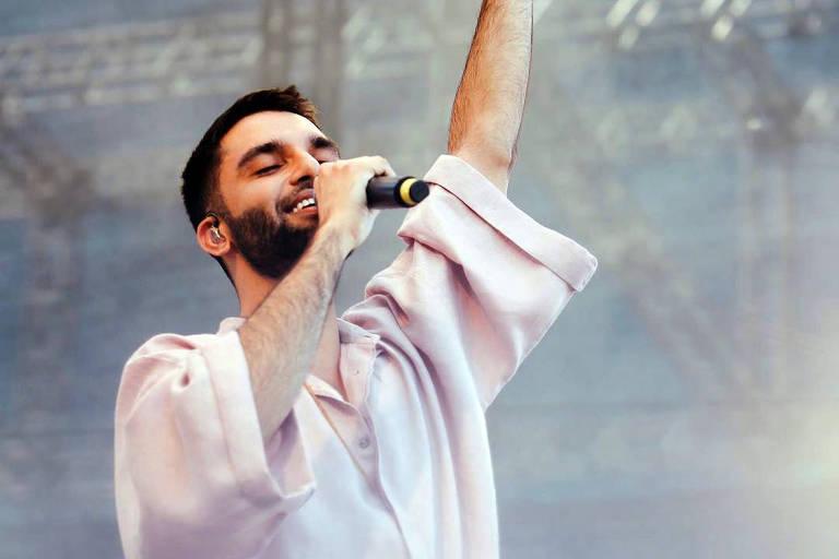 O cantor Silva