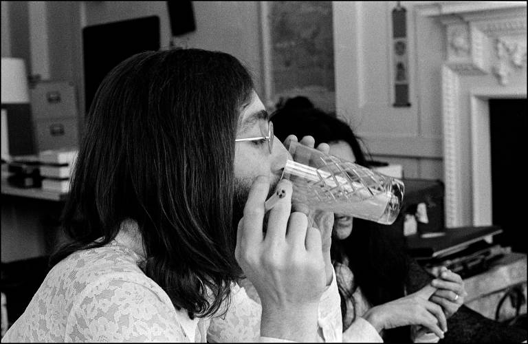 Veja fotos de John Lennon e Yoko Ono