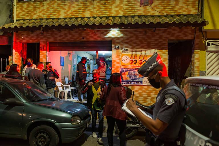 Operação rastreia baile funk no distrito campeão de mortes em SP