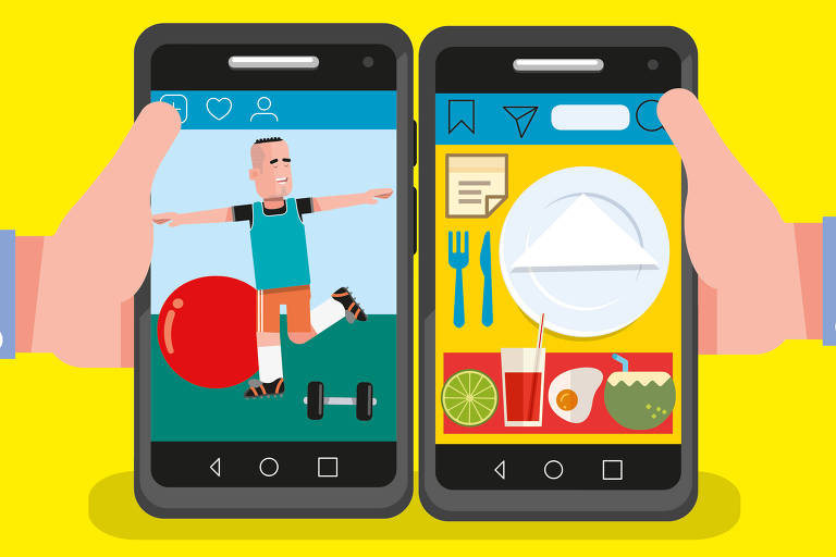 ilustração do viva bem sobre aplicativos de 12 de julho