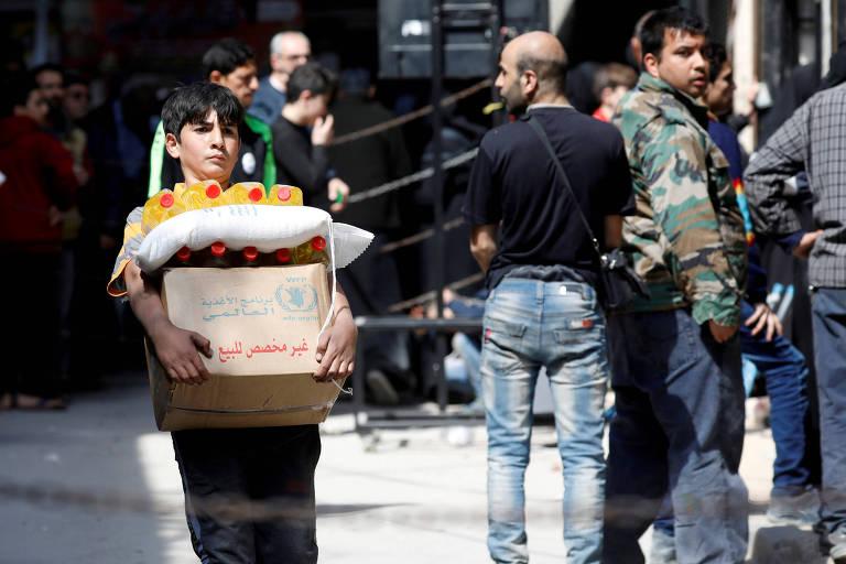 Autorização de ajuda humanitária da ONU na Síria é renovada