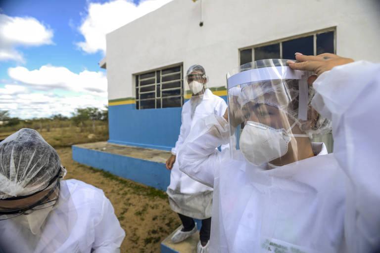 Cotidiano no sertão da Paraíba em plena pandemia