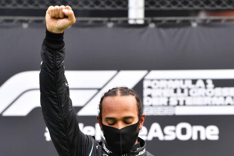 Esporte produz em 2020 imagens icônicas da luta antirracista