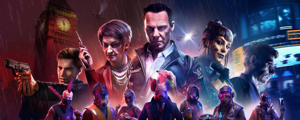 Cenas do jogo Watch Dogs: Legion, da Ubisoft