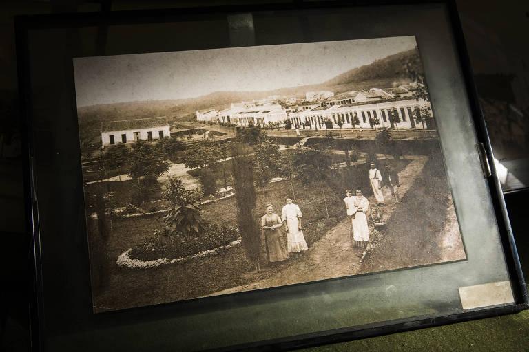 Estação ferroviária em Mairinque