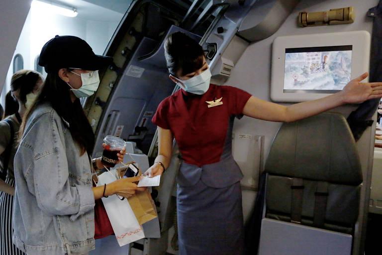 Taiwan oferece voos falsos para viajantes em abstinência