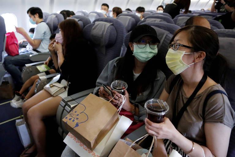 Aeroporto de Taiwan oferece voos falsos para viajantes em abstinência