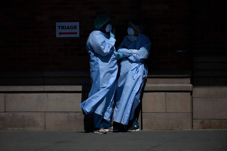 Como o coronavírus levou uma médica autoconfiante ao suicídio nos EUA
