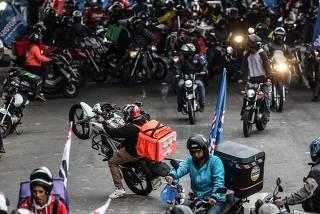 PARALISAÇÃO MOTOBOYS E ENTREGADORES