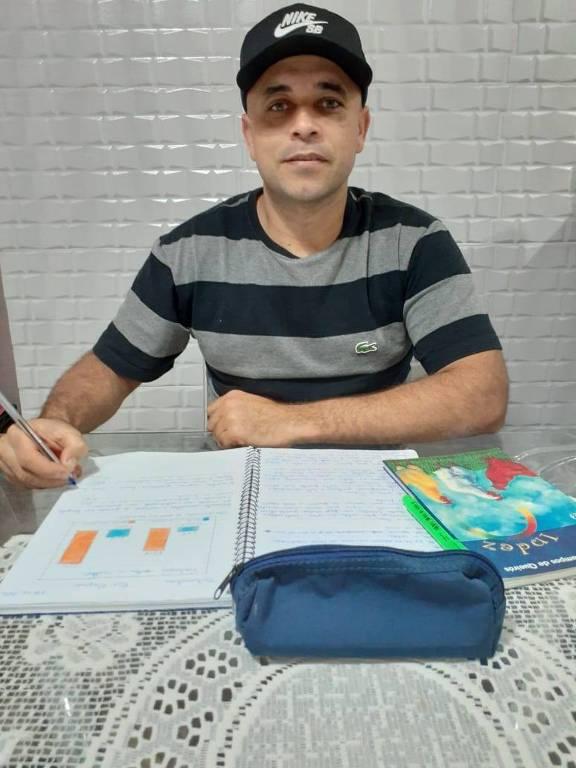 José Sousa Júnior parou de estudar aos 18 anos para trabalhar
