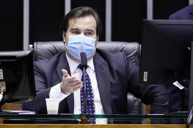 Presidente da Cmara dos Deputados, Rodrigo Maia (DEM - RJ), criticou as discusses que envolvem a recriao da CPMF