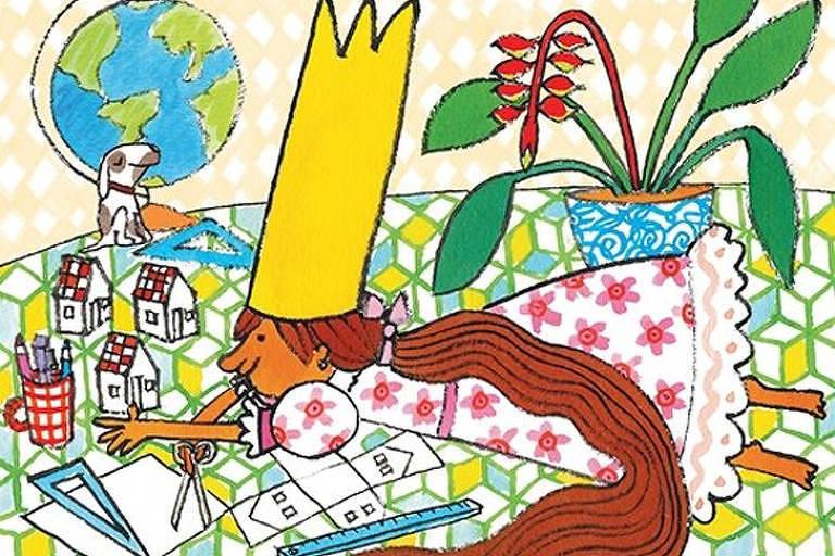 """Capa do livro """"A Princesa Que Escolhia"""", de Ana Maria Machado"""