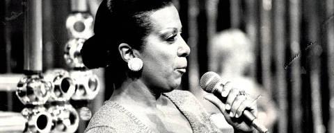 1976 - Elizeth Cardoso.  (Foto: Acervo UH)