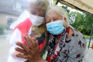 Residents at Belgian nursing home