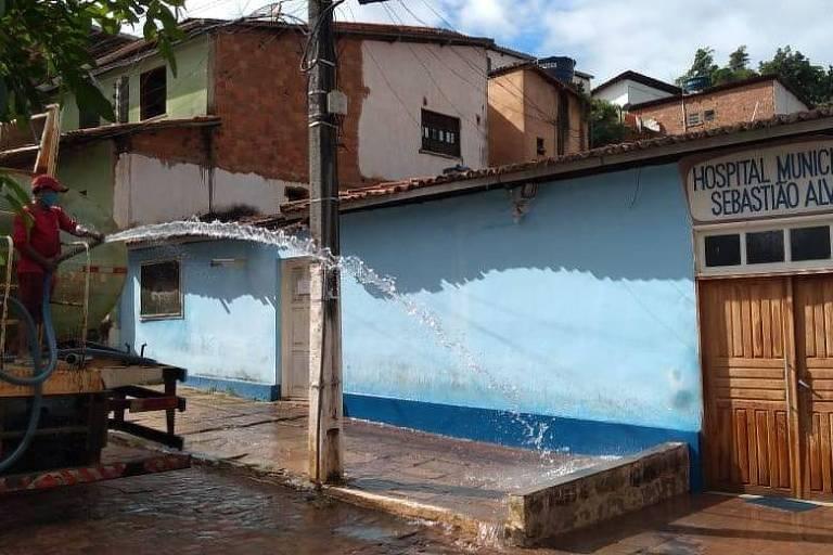 Prefeitura de Lençóis intensifica medidas sanitárias após explosão de casos de Covid-19 depois do São João