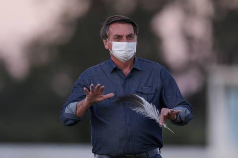 Novo exame de Bolsonaro dá positivo para coronavírus, e presidente deve manter isolamento