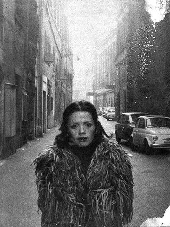 A fotógrafa brasileira Vânia Toledo, em 20 de agosto de 1995
