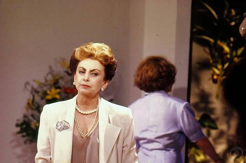 a vilã Odete Roitman (Beatriz Segall)
