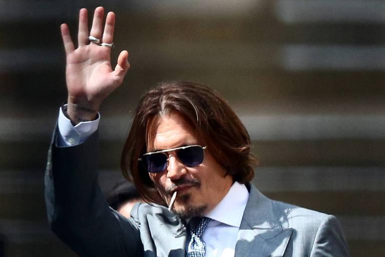 Johnny Depp foi agredido por ex-mulher Amber Heard, diz segurança do ator em tribunal