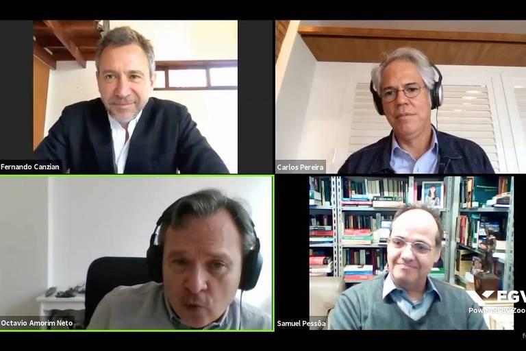 Seminário online com pesquisadores da FGV e mediação de repórter da Folha