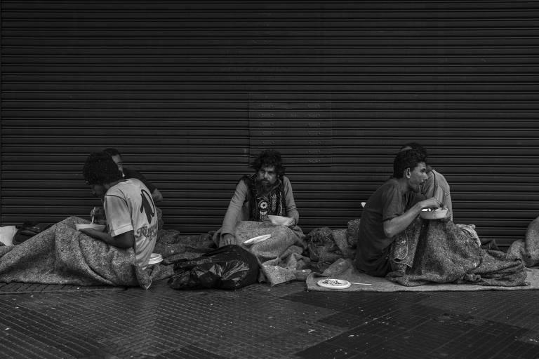 Doações de comida na pandemia