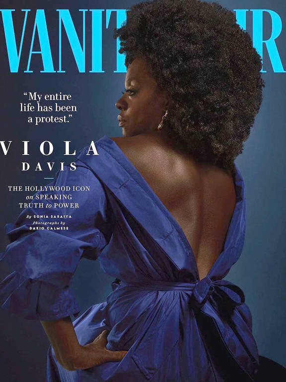 Imagens da atriz Viola Davis