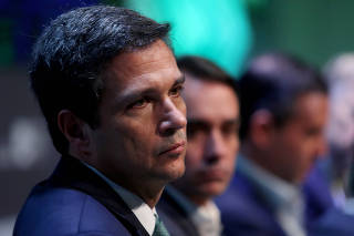 FILE PHOTO: Brazil's Central Bank President Roberto Campos Neto attends the Brazil Investment Forum in Sao Paulo