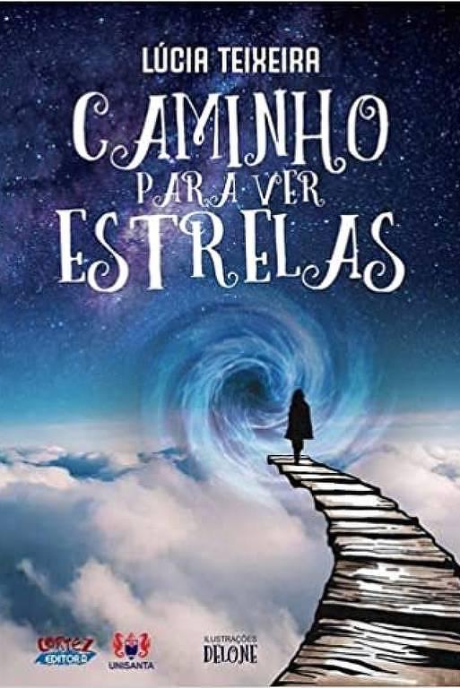 """Capa do livro """"Caminho para Ver Estrelas"""""""
