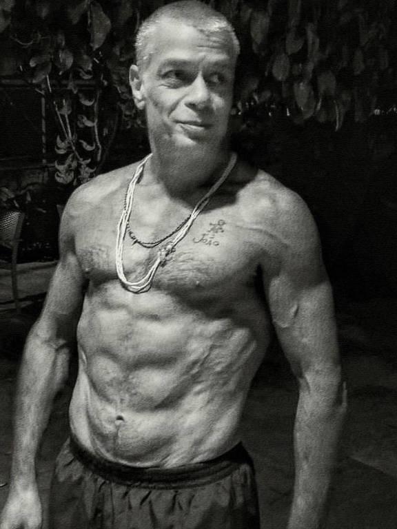 Imagens do ator Fábio Assunção