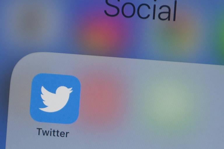 Logo do Twitter; companhia foi impactada pela crise do coronavírus