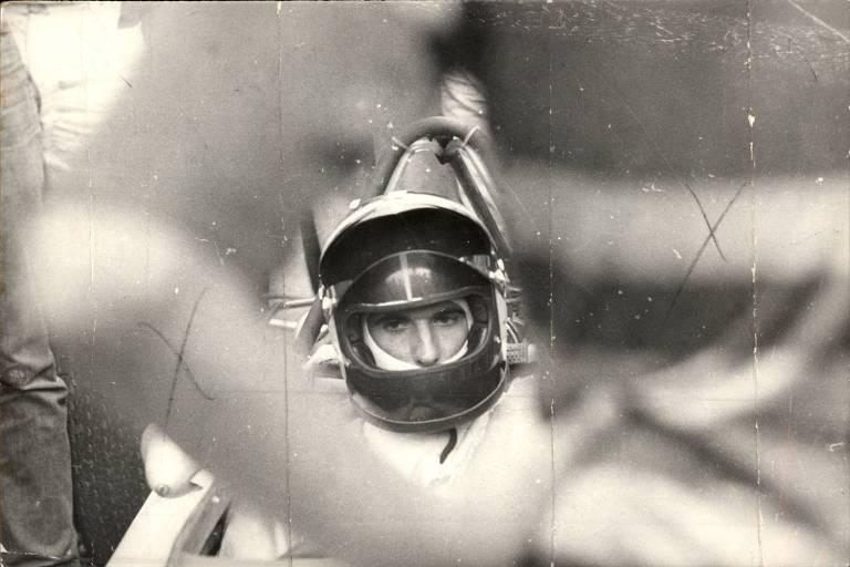 Emerson Fittipaldi, em carro da Lotus