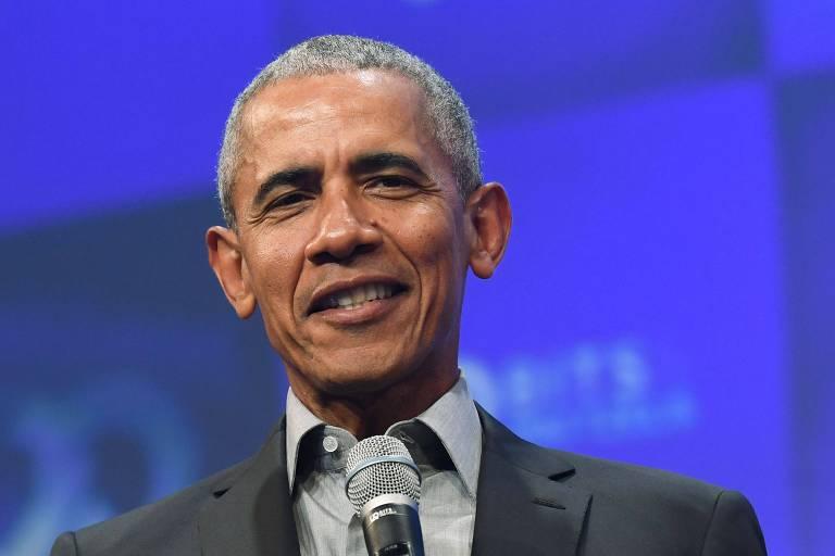 O ex-presidente Barack Obama em foto tirada em festival em Munique, na Alemanha, em 29 de setembro de 2019