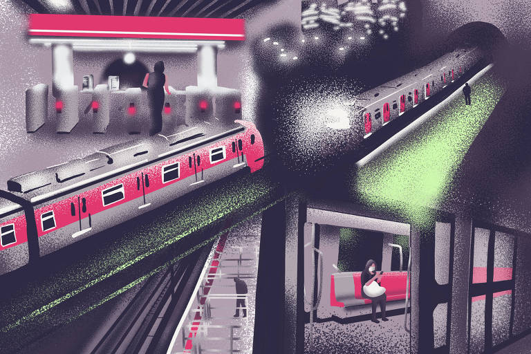 Ilustração sobre série de transportes de 20.jul.2020