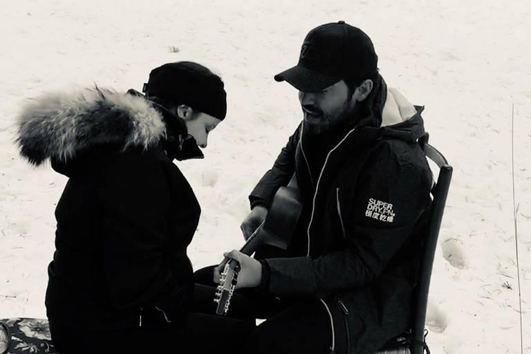 Fernando Zor publica foto com Maiara