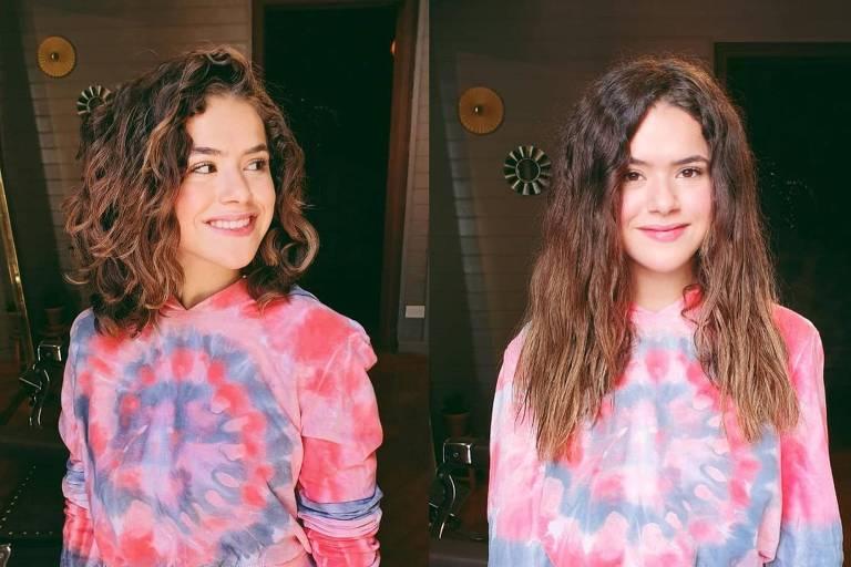 Maisa Silva corta o cabelo após transição capilar