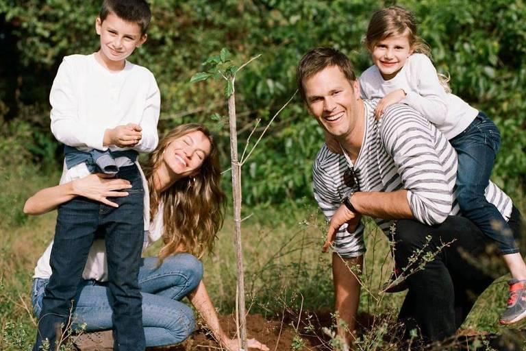 Gisele Bundchen pede árvores de presente para comemoração de seus 40 anos